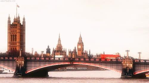 Watch and share Big Ben, Bus, Clock, London GIFs on Gfycat