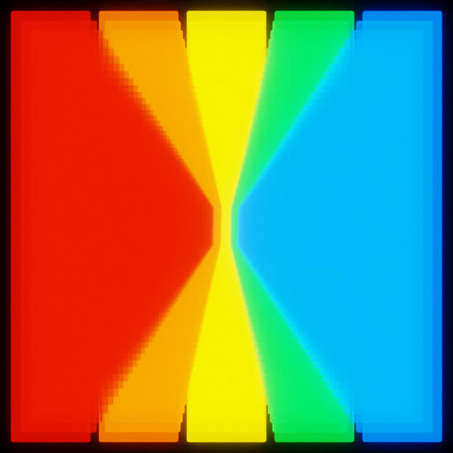 Watch and share Rainbow GIFs and Colour GIFs by Rodtronics on Gfycat