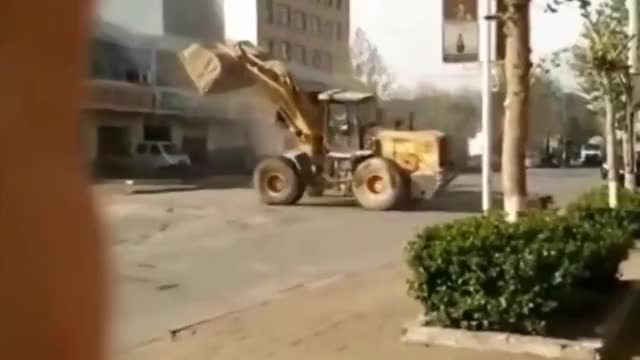 Watch and share Front End Loader GIFs and Bulldozer GIFs by Autoblog on Gfycat