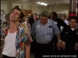 Watch and share Ace Ventura Laugh GIFs on Gfycat