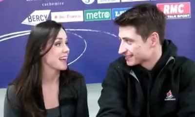 Watch tessa & scott in paris GIF on Gfycat. Discover more skaters GIFs on Gfycat