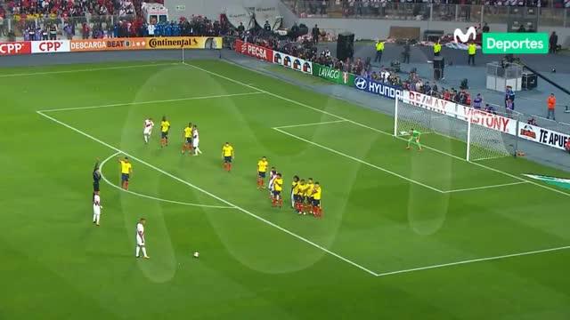 Watch Perú 1 - 1 Colombia: Revive el gol de Paolo que nos puso en el repechaje GIF on Gfycat. Discover more related GIFs on Gfycat