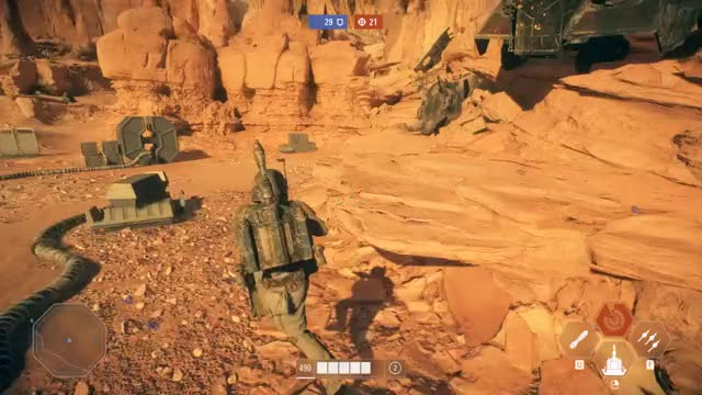 Watch and share Boba Fett Melee GIFs by DJ31259 on Gfycat