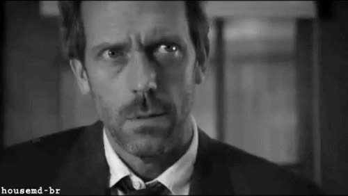 Watch and share Hugh Laurie GIFs and Lisa Cuddy GIFs on Gfycat