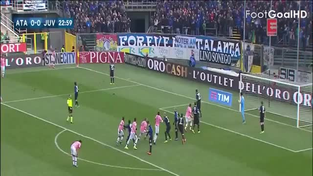 Watch and share Andrea Barzagli Goal ~ Atalanta Vs Juventus 0-1 ~ 07/3/2016 [Serie A][HD] GIFs on Gfycat