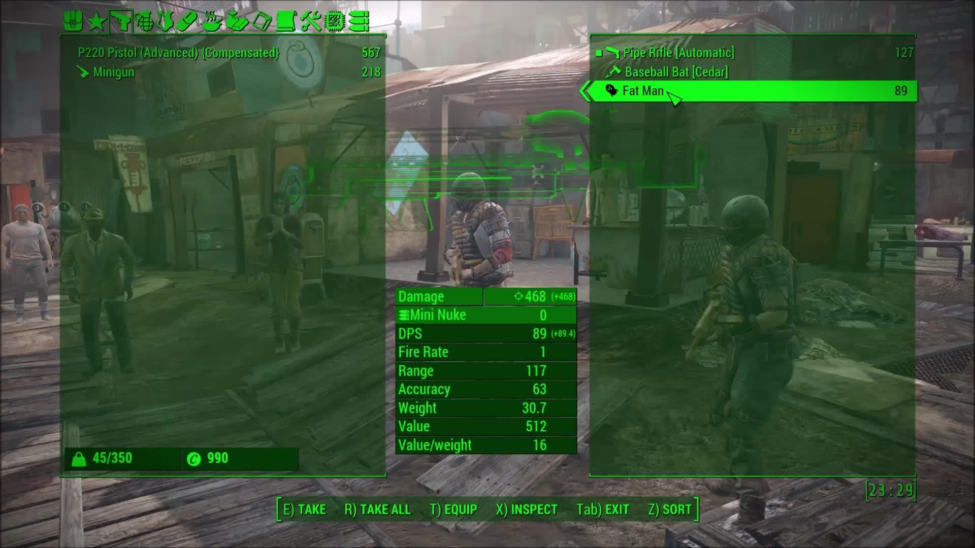 fallout 4, Diamond City guard kills everyone in the city GIFs