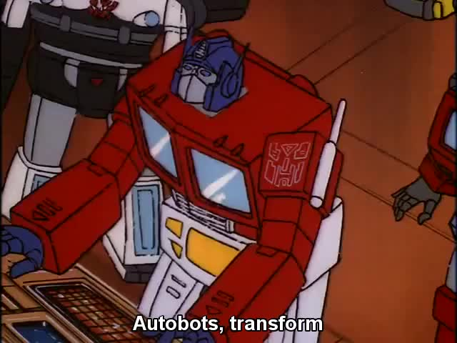 Watch Autobots, transform and roll out! GIF on Gfycat. Discover more related GIFs on Gfycat