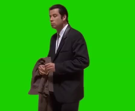 Watch this john travolta GIF on Gfycat. Discover more john travolta, meme, memes, pulp fiction GIFs on Gfycat