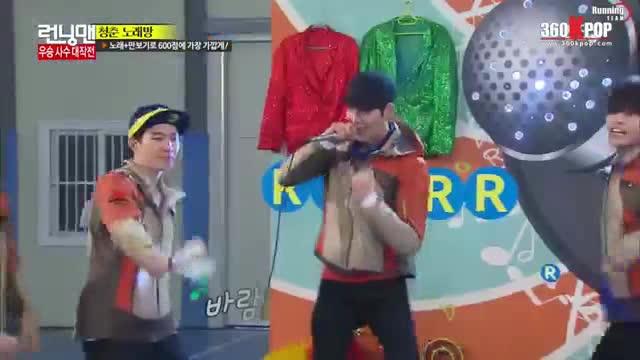 Kim Woo Bin ơi, hãy luôn vui vẻ và tràn đầy năng lượng như những khoảnh khắc trong Running Man này nhé!