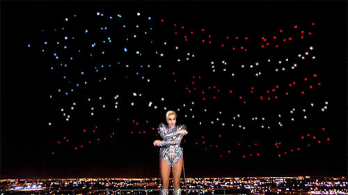 halftime show, jumping, jumping to conclusions, lady gaga, leap, super bowl, Lady Gaga Super Bowl Halftime Show GIFs