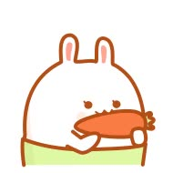 Sweet bunny smileys picture iPhone Emoticons Animoji Sticker GIF