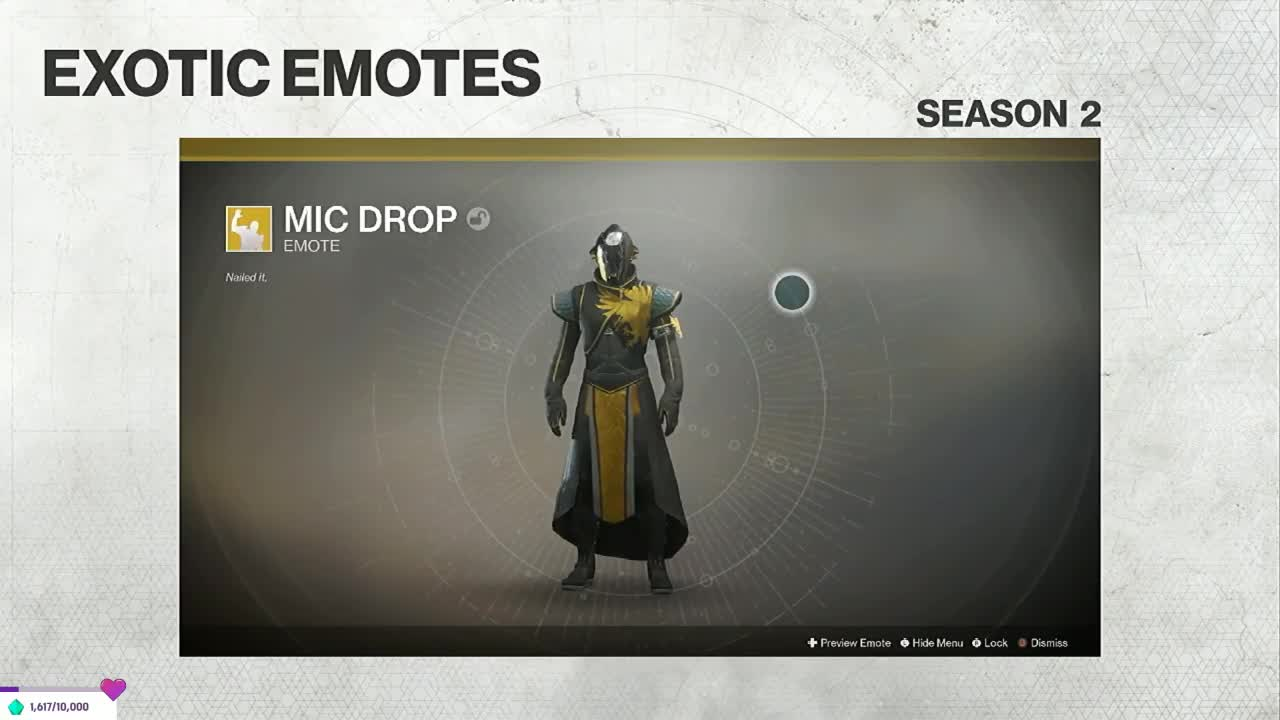 Destiny 2, Mic Drop — Destiny 2 GIFs