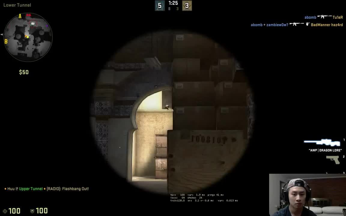 globaloffensive, legendarylea, pogchamp moment [0:15] (still ended up losing though) (reddit) GIFs