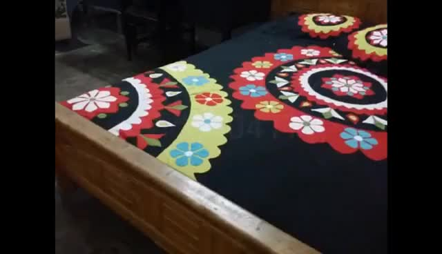 Watch Handmade Applique Bedsheet GIF on Gfycat. Discover more related GIFs on Gfycat