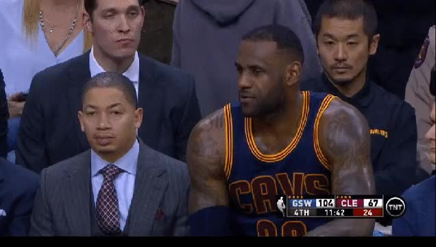 Watch and share Nebraska Wins Again- Tyronn Lue Coaching The Cavs GIFs on Gfycat