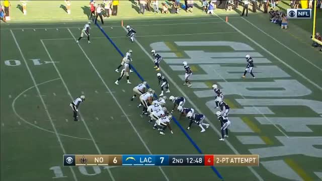 Watch 2 PT TUNNEL SCREEN GIF by DonLocke15 (@donlocke15) on Gfycat. Discover more Los Angeles Chargers, New Orleans Saints, football, madden GIFs on Gfycat