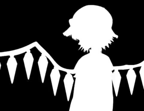 Watch Flandre- Bad Apple. GIF on Gfycat. Discover more apple, bad, bad apple, touhou, touhou project GIFs on Gfycat