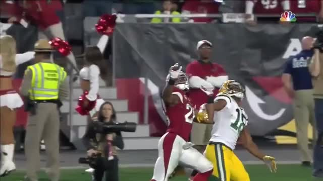 Watch and share Arizona Cardinals GIFs and Green Bay Packers GIFs by DoobieWabbit on Gfycat