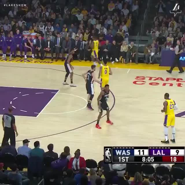 Watch and share Los Angeles Lakers GIFs and Basketball GIFs on Gfycat