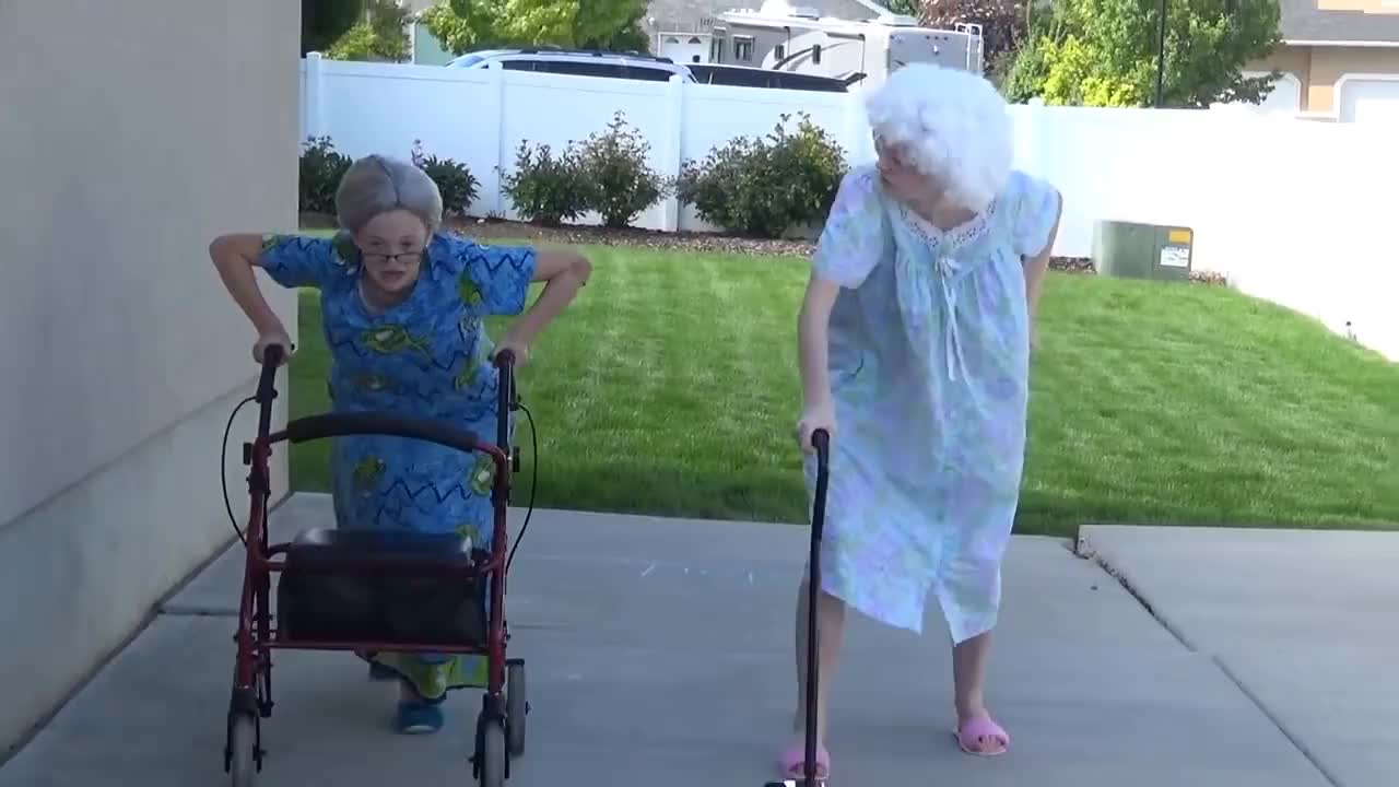 granny, olympics, sevensupergirls, The Granny Olympics!!! GIFs
