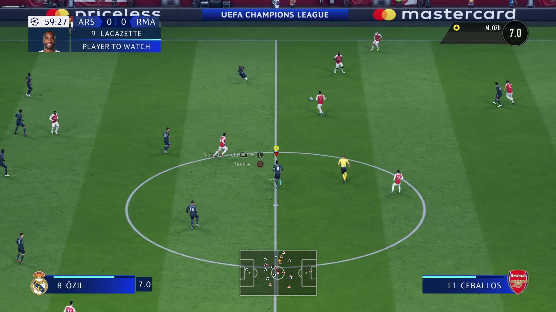 arsenal, fifa, ozil, soccer, FIFA 19 2019-07-06 오후 11 58 56 GIFs