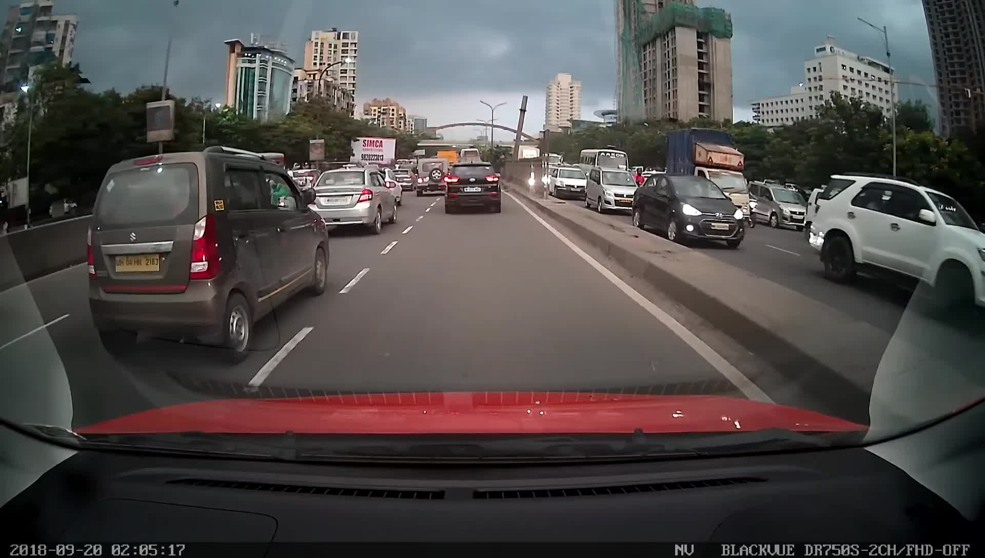 Dashcam Day 1 - Incident 2 GIFs