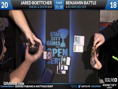 magicTCG, magictcg, Summary of Suspect Jared Boettcher Shuffling (reddit) GIFs