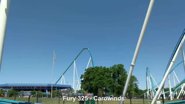 Watch and share Amusement Park GIFs and Roller Coaster GIFs on Gfycat