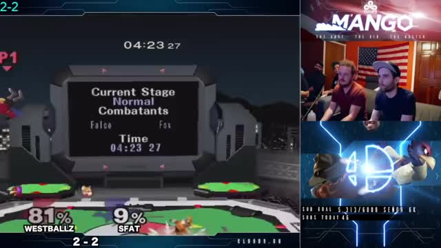 falco sh drill, fox uptilts