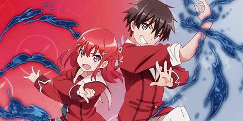Watch It wasn't much! GIF on Gfycat. Discover more inou battle wa nichijou kei no naka de, jurai andou, mygifs, these two are so cute, tomoyo kanzaki GIFs on Gfycat