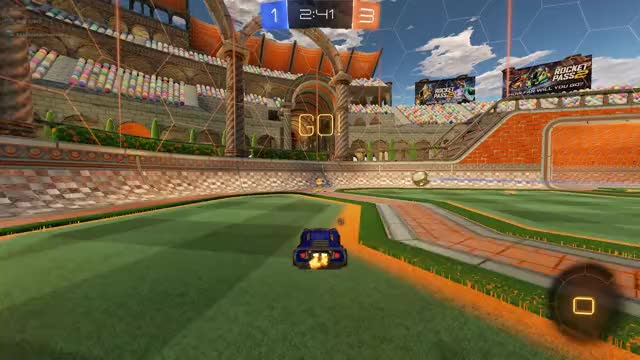Watch Crazy Corner Ariel Goal by Can't Be Unseen GIF by G (@skeeter1130) on Gfycat. Discover more RocketLeague GIFs on Gfycat