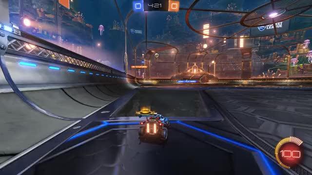 Watch Celing bounce selfpass 1 GIF by Mr Pickings Rocket League highlights (@mrpickings) on Gfycat. Discover more mr pickings, rocket league, selfpass GIFs on Gfycat