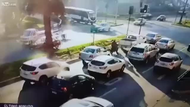 Watch and share Truck Crashes Into Shopping Mall In Chile  GIFs on Gfycat
