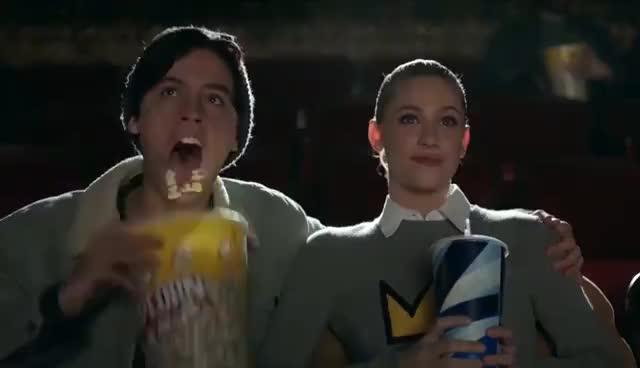 popcorn, riverdale, Riverdale - Bloopers | Season 1 GIFs