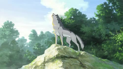 Watch and share Lost In The World– An Analysis Of Wolf Children's Ending GIFs on Gfycat