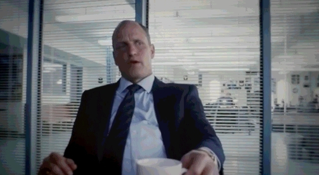 Celebs, GfycatDepot, TrueDetective, Oh I'm just a regular type dude with a big ass dick [True Detective Woody Harrelson] (reddit) GIFs