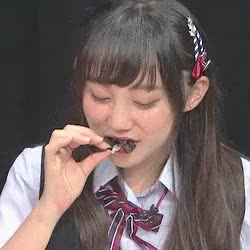 Watch and share Eating GIFs and Nmb48 GIFs on Gfycat