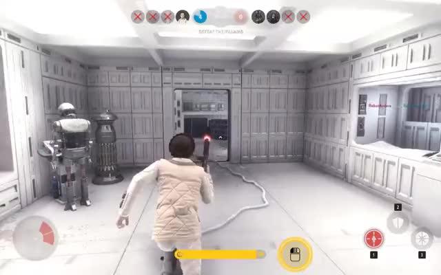 Watch Watch ltlgrmln's Star Wars Battlefront video: Zero second HvV draw, Leia versus Palp. - Plays.tv GIF on Gfycat. Discover more starwarsbattlefront GIFs on Gfycat