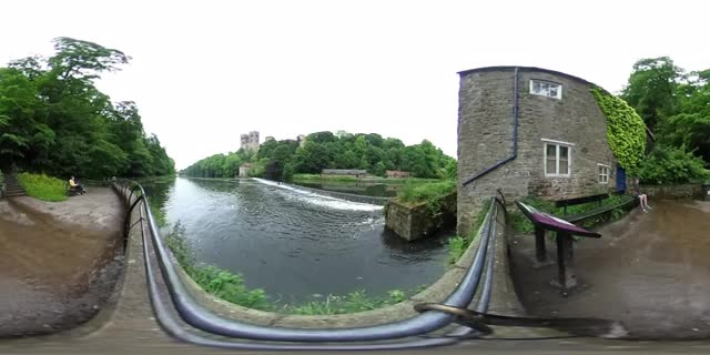 Watch and share Durham Cathedral Riverbanks, UK - 360 Cinemagraph - Pandorama360, YouTube.com GIFs on Gfycat