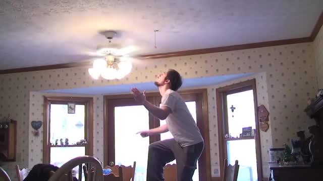 Watch Ceiling Fan Trick Knockdown GIF on Gfycat. Discover more ceiling, fan, trick GIFs on Gfycat