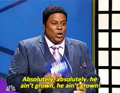 Watch and share Kenan Thompson GIFs on Gfycat