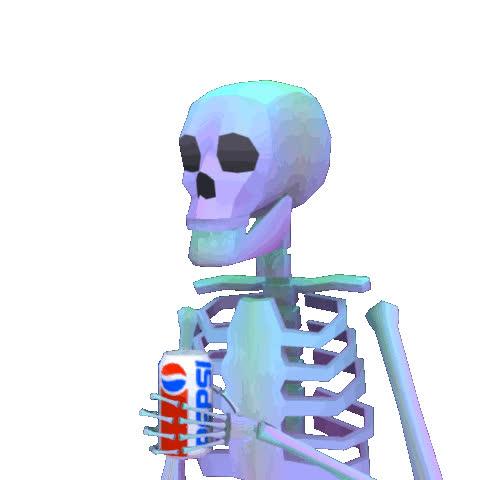 spooky skeleton gif dump GIFs