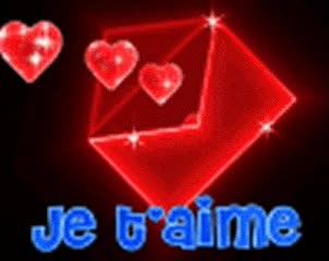 Watch and share Je T'aime GIFs on Gfycat