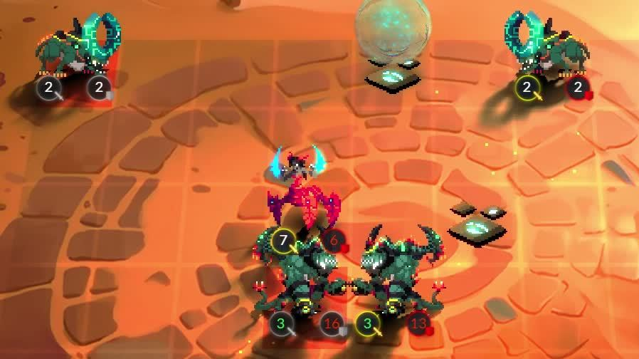 Duelyst, Magmar, duelyst, Taygete vs Red Synja GIFs