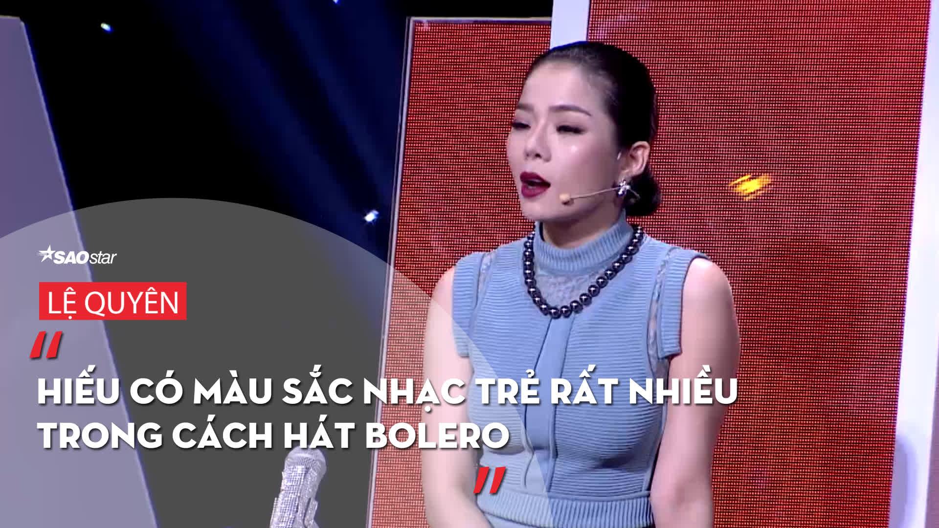 Lần đầu tiên, giọng ca Opera thể hiện Bolero ngọt ngào khiến Đàm Vĩnh Hưng và Lệ Quyên ra sức tranh giành