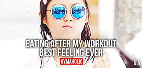 Watch this trending GIF on Gfycat. Discover more after, best feeling ever, eating, fit, fitblr, fitness, fitspo, gif, gymaholic, motivation, post workout GIFs on Gfycat