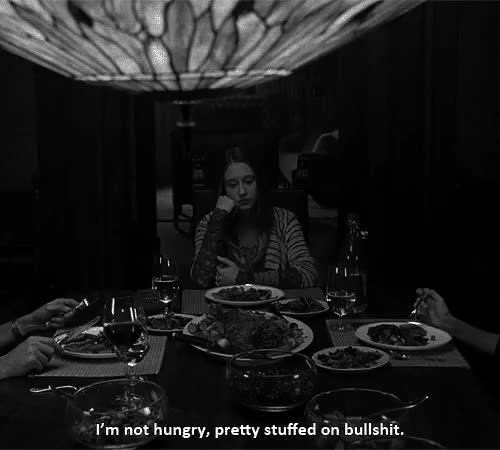 Watch and share Violet Quote GIFs and Not Hungry GIFs on Gfycat