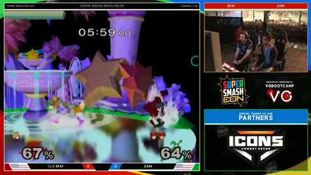 Super Smash Con Top 8 Melee Highlights - The Beak is At Its Peak - By Roblee