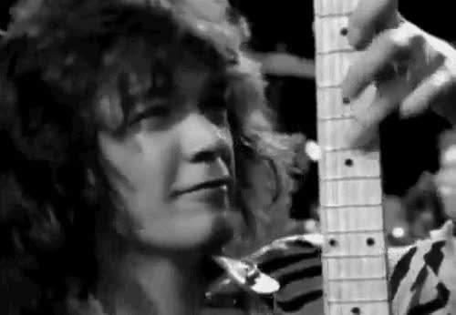Watch and share ** On This Date In 1955: Happy 60th Birthday To One Of The Greatest Rock Guitarists, Eddie Van Halen.** GIFs on Gfycat