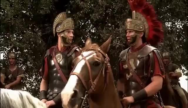 Watch octavian at philippi GIF on Gfycat. Discover more hbo rome GIFs on Gfycat